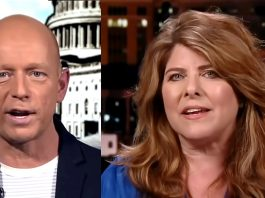 Steve Hilton och Naomi Wolf. Foto: Fox News, 29 mars 2021