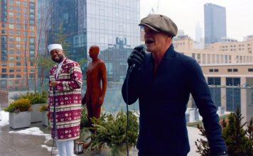Sting och Shirazee: African in New York. Foto: Sting.com