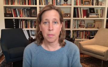 Susan Wojcicki (VD på Youtube). Foto: eget verk, 16 april 2021