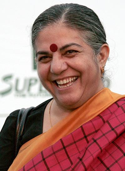 Vandana Shiva, 2009. Foto: Manfred Werner. Licens: CC BY-SA, Wikimedia