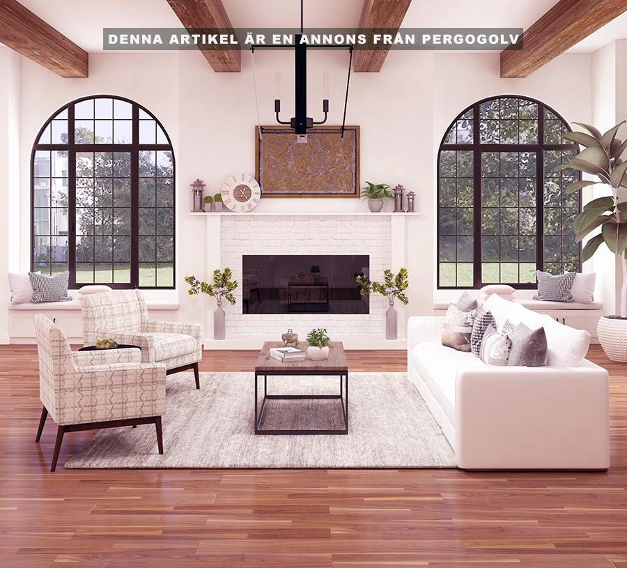 Ett nytt golv förnyar ditt hem till låg kostnad