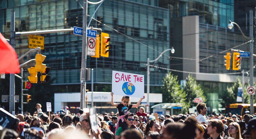en manifestation i USA: manifestation. Foto: Lewis Parsons. Licens: Unsplash.com