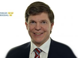 Andreas Norlén. Pressfoto: Regeringen