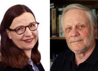 Anna Ekström (pressfoto: Regeringen) och Christer Nilsson (pressfoto: Johan Arvidsson)