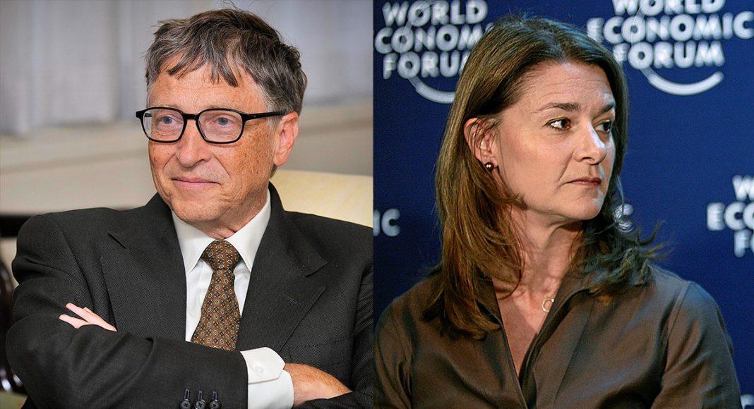Bill Gates (foto: Ken Shipp, licens: public domain) och Melinda Gates (foto: Remy Steinegger, licens: CC BY-SA 2.0)