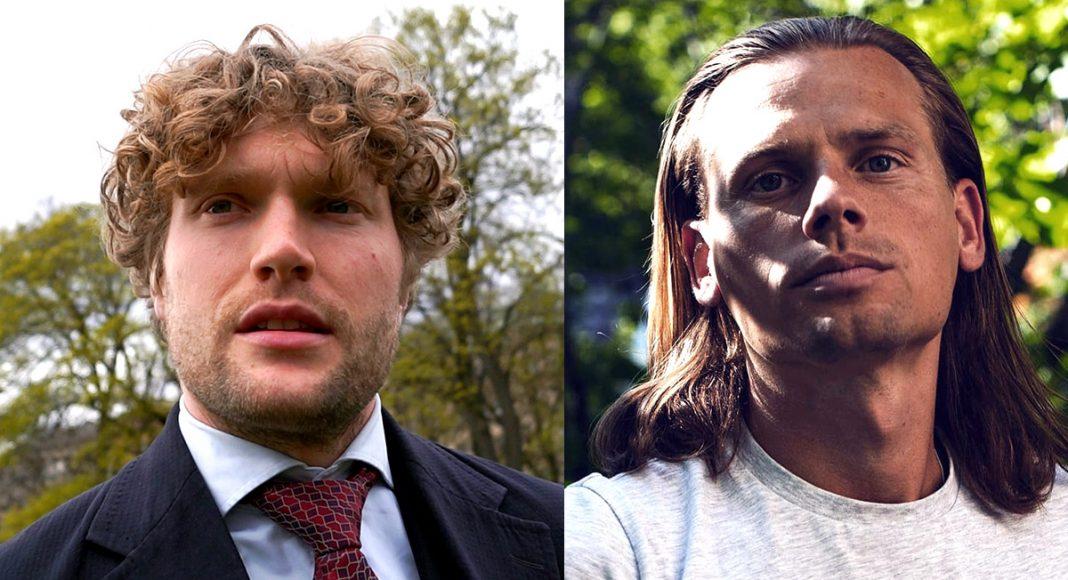 Filip Sjöström (foto: NewsVoice) och Max Winter (privat foto)
