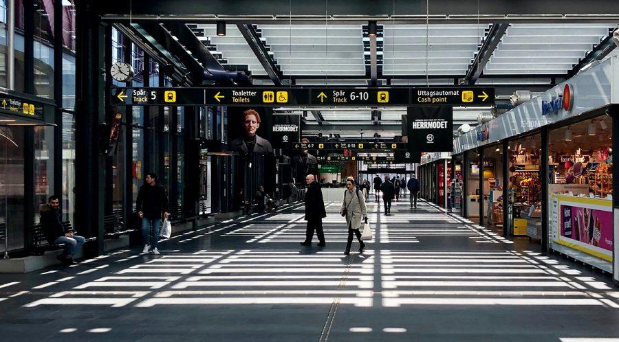 Malmö-Centralstation. Foto: Drahomir Posteby Mach. Licen: Unsplash.com