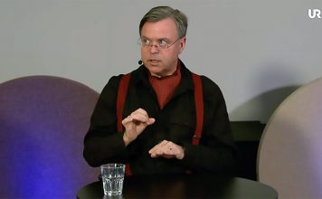Andreas Önnerfors, 2021. Foto: UR Play