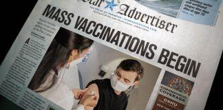 Covid-vaccinationer. Foton av CDC och Little Plant. Licens: Unsplash.com. Montage: NewsVoice