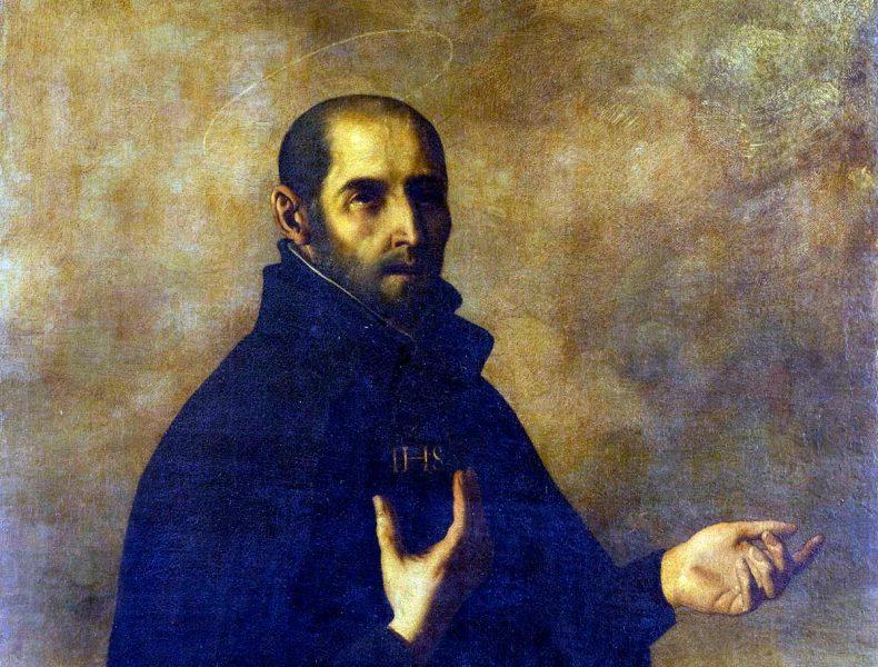 Ignatius Loyola. Målning av Francisco Zurbarán (1598-1664)