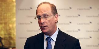 Laurence D. Fink. Foto från video: Credit Suisse
