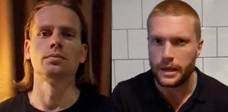 Max Winter och Filip Sjöström, 2-3 juni 2021. Foton: selfies