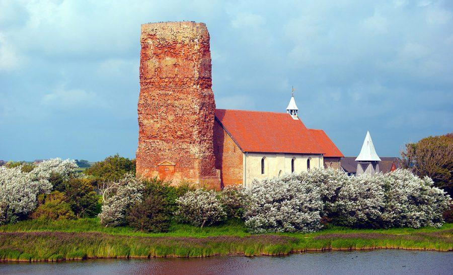 St. Salvators kyrka på Pellworm. Licens: CC BY-SA 3.0