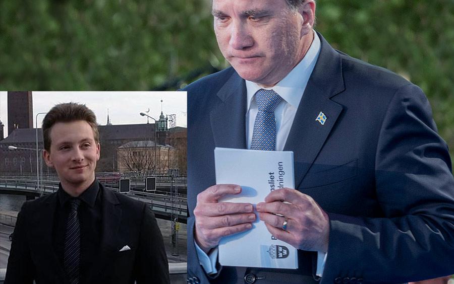 Stefan Löfven och Henric Colliander