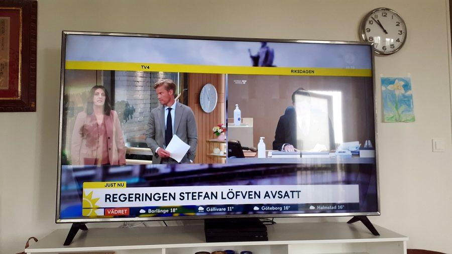 Stefan Löfve är avsatt - 21 juni 2021