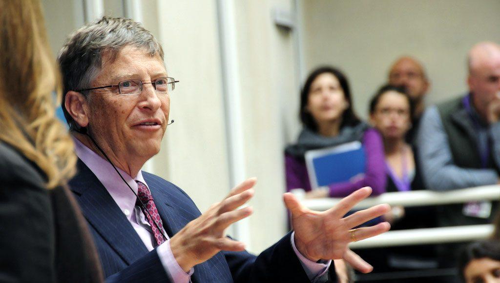 Bild: Bill Gates. Foto: Dfid.gov.uk. Licens. CC BY 2.0