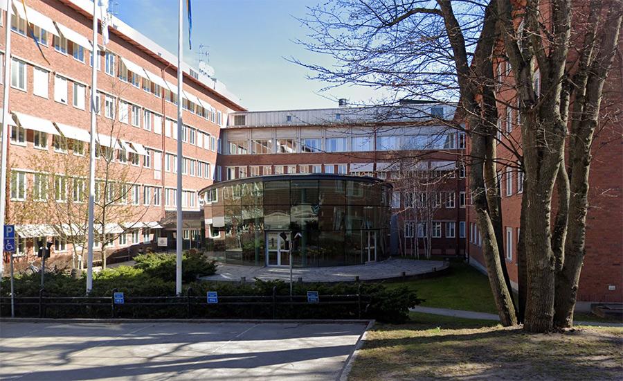 Folkhälsomyndigheten, Nobels väg 18, Solna. Foto: Google Maps