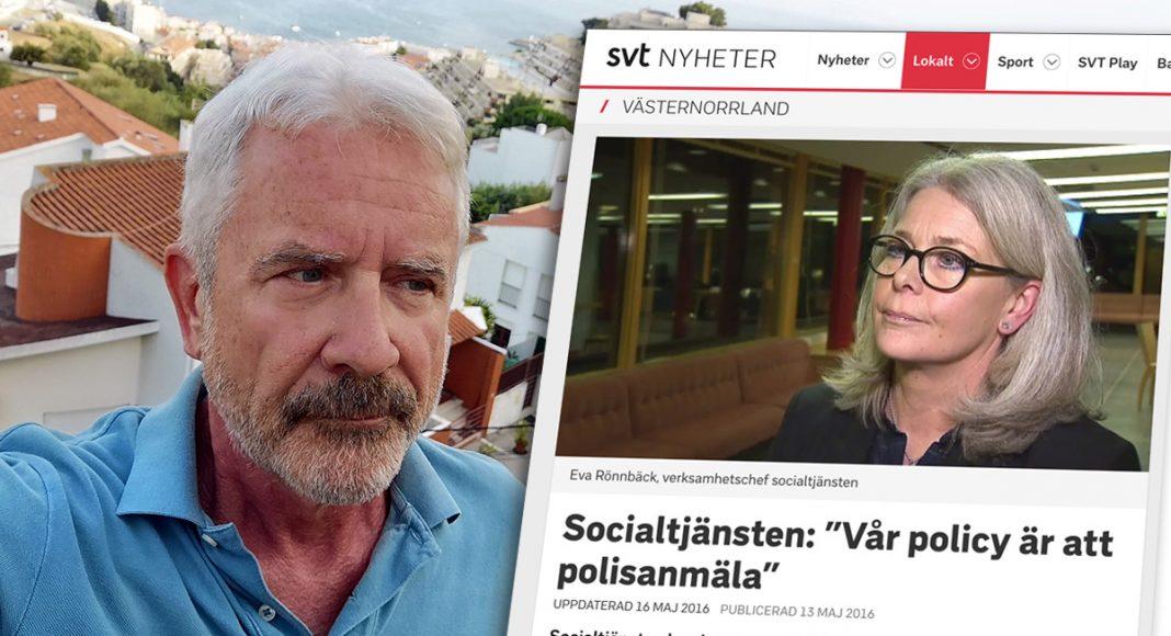 Jan Norberg (foto: NewsVoice) och Eva-Rönnbäck (infälld, foto: SVT)