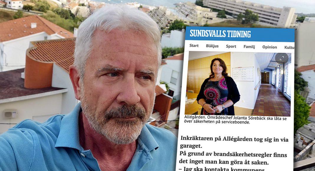 Jan Norberg (selfie) och Jolanta Sörebäck (skärmdump från ST.nu)