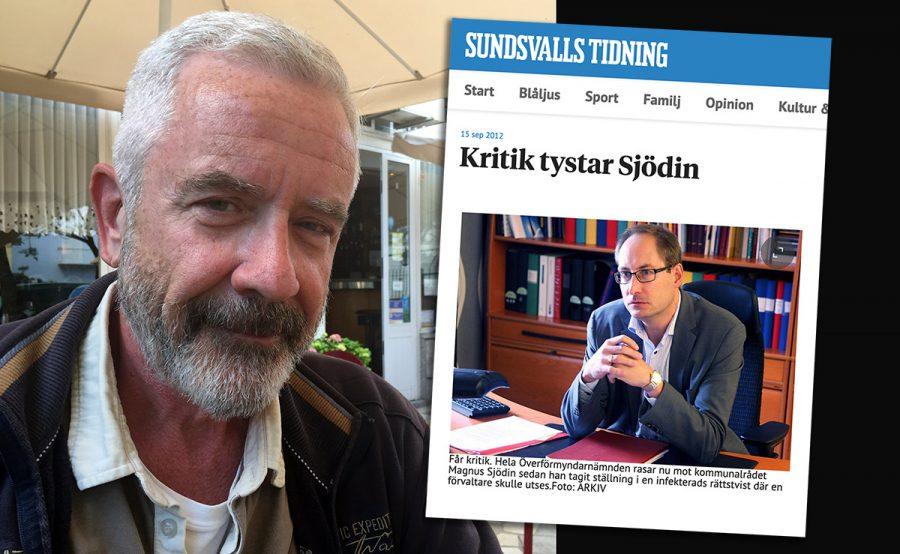 Jan Norberg (selfie, juli 2021) och Magnus Sjödin (skärmdump från ST.nu). Montage: NewsVoice