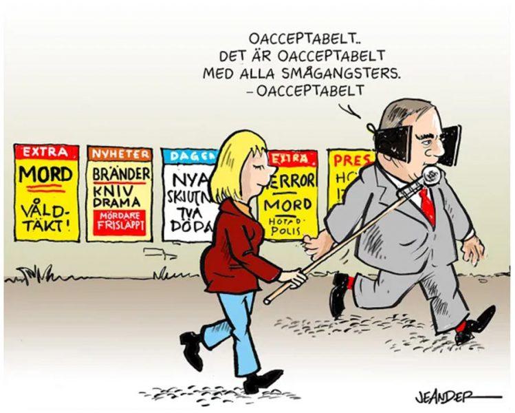 Stefan Löfven, Sveriges bästa statsledare genom tiderna? Illustration: Jeander.com