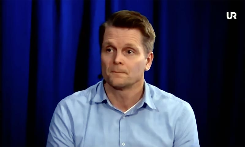 Thomas Nygren, senior lecturer in didactics at Uppsala University. Photo: UR.se, Public and Science