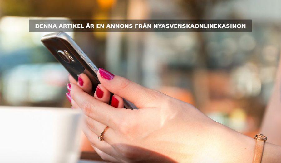 Hitta nya svenska casinon licensierade av Spelinspektionen