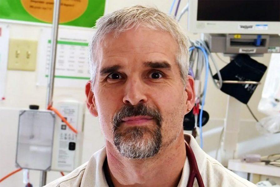 Dr Chris Milburn, pressfoto