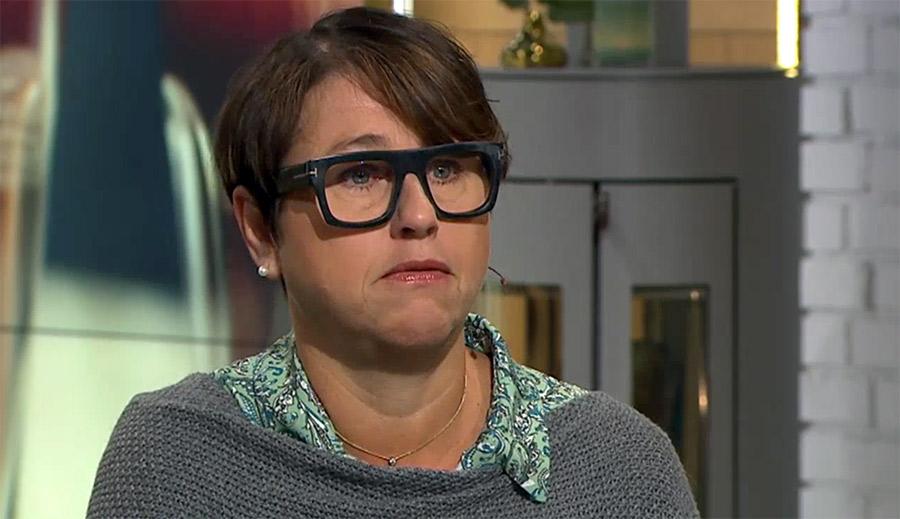 Hanne Kjöller, 20 aug 2021. Foto: TV4