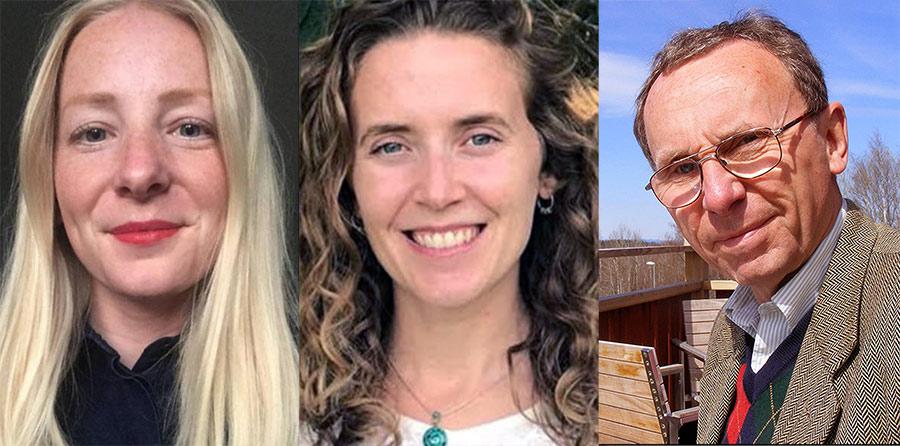 Johanna Mattsson, Juliana Salamone och Tege Tornvall (privata foton)