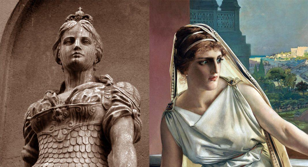 Moder Svea och Hypatia