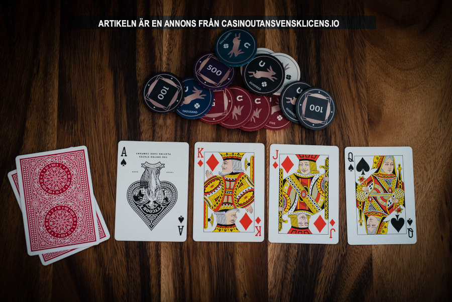 Spela casino online. Foto: Dylan Clifton. Licens: Unsplash
