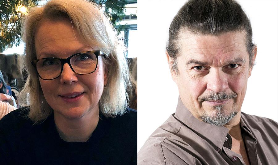 Anna Bratt (Wikimedia) och Max Lundqvist (pressfoto)