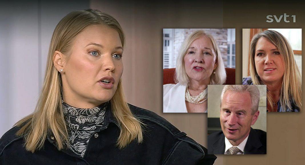 Emma Frans (SVT), Carry Madej, Peter McCullough och Christiane Northrup