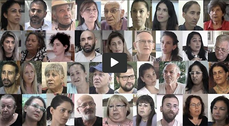 Vittnen i Israel berättar om vaccinskador. The Testimonies Project