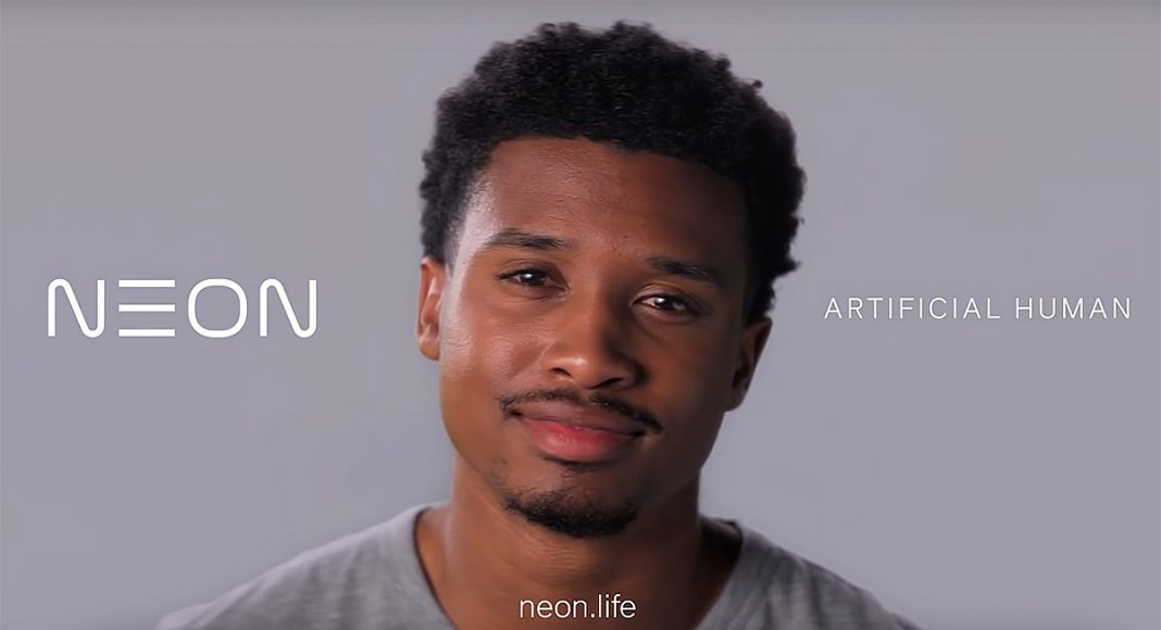 Artifical AI-controlled human by NEON.life