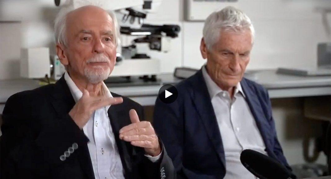 Reutlingen-forskarna: professor dr Arne Burkhardt och professor dr Walter Lang.