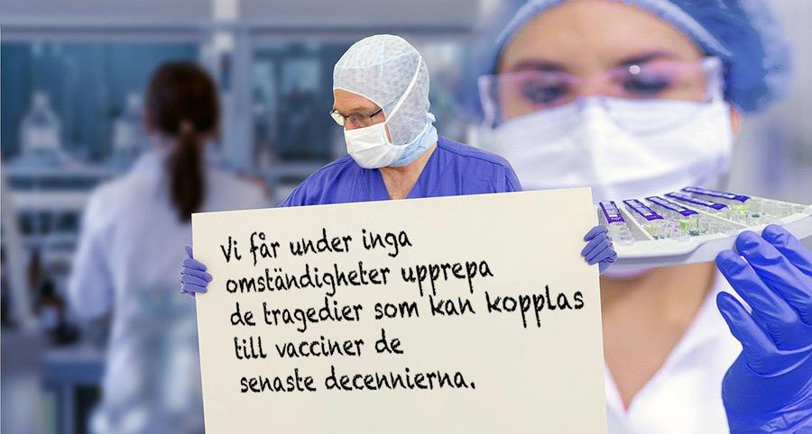 24 svenska läkare: Stoppa covidvaccin för barn. Foto: Gerd Altmann. Licens: Pixabay.com