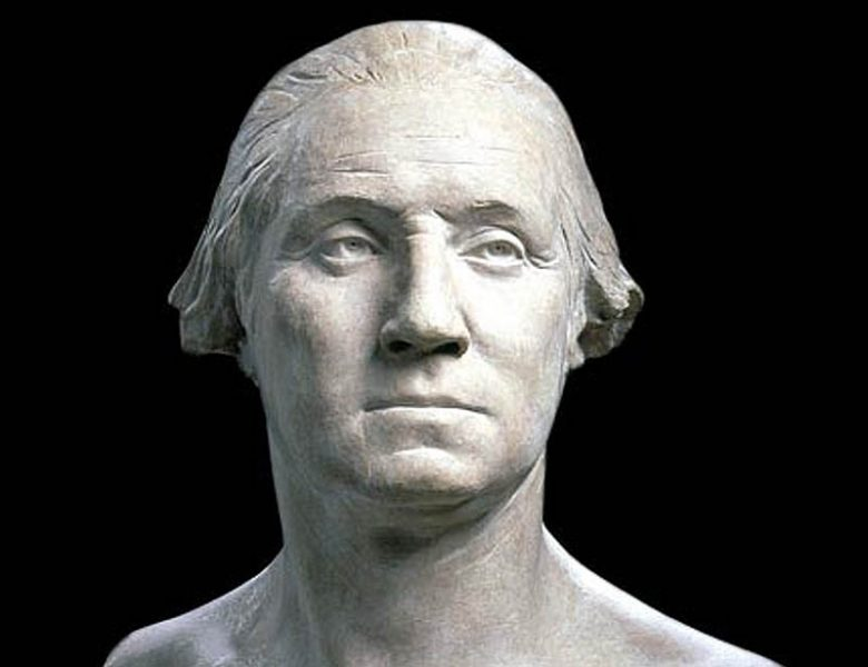Byst av George Washington, public domain