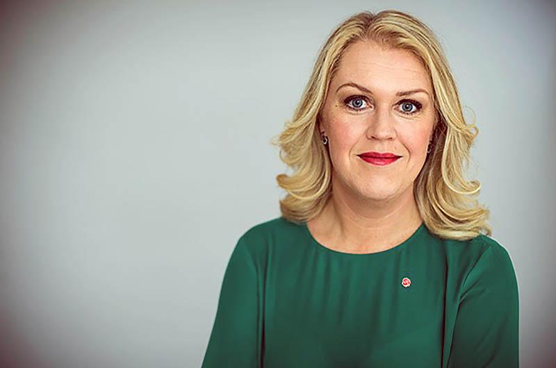 Lena Hallengren utreder utegångsförbud i Sverige. Pressfoto: Kristian Pohl för Regeringskansliet