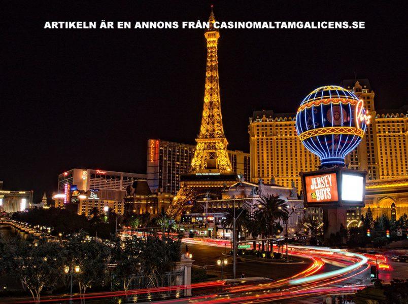 MGA casino. Bild: Las Vegas. Licens: Pixabay.com