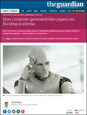 Robotjournalistik Image by Corbis - Blutgruppe