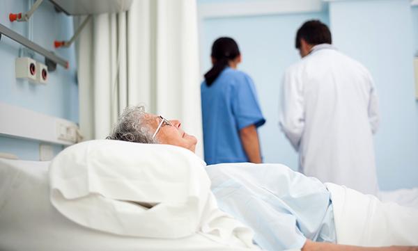 Äldre person dödsfall i svensk sjukvård