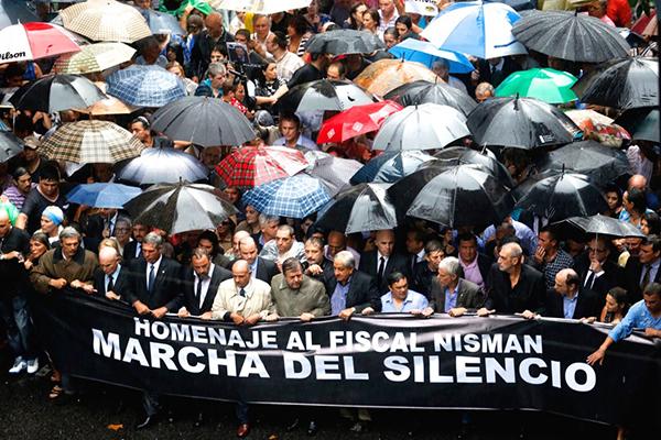 Tysta marchen Argentina 2015 - Foto: Occupy.com