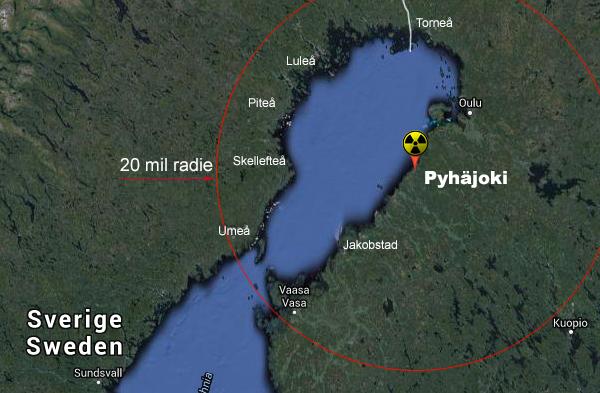 Pyhäjoki finskt kärnkraftverk