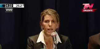 Sandra Arroyo Salgado - Video: TN Urgente
